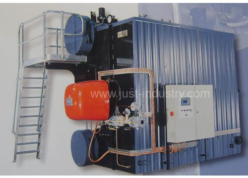 """D"" type Oil/Gas water tube Steam Boiler"