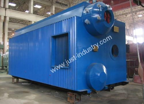 D type gas fired Water Tube Steam Boiler