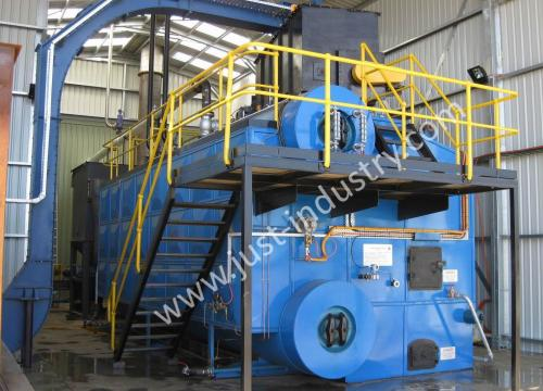 wood fired water tube steam boiler in Australia