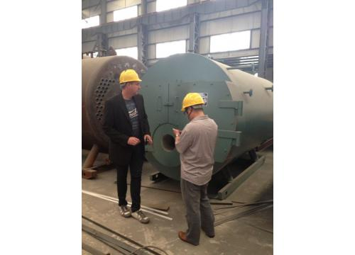 Oil and Gas fired steam boiler or Hot water boiler