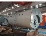 Oil and gas fire tube industrial steam boiler and hot water boiler
